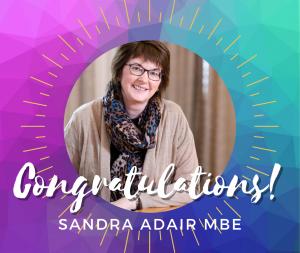 Sandra Adair MBE