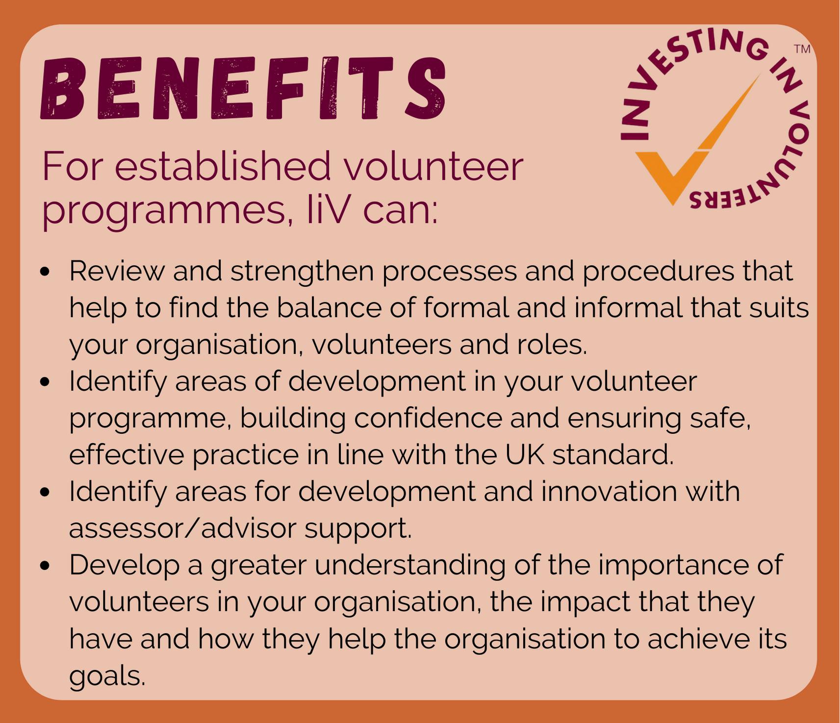 Investing in volunteers benefits