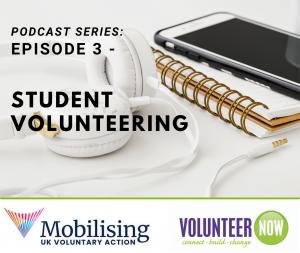 Student volunteering podcast