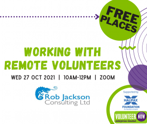 Working with Remote Volunteers